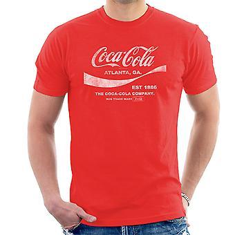 Coca Cola Drink 1886 Men's T-Shirt