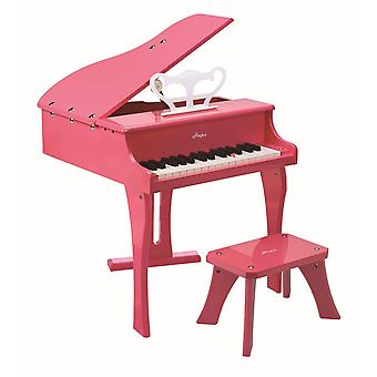 Hape-Happy Grand Piano Pink
