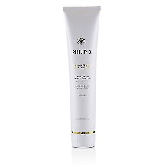 Philip B Straightening Hair Masque (Frizz Taming Shine + Control - All Hair Types) 178ml/6oz