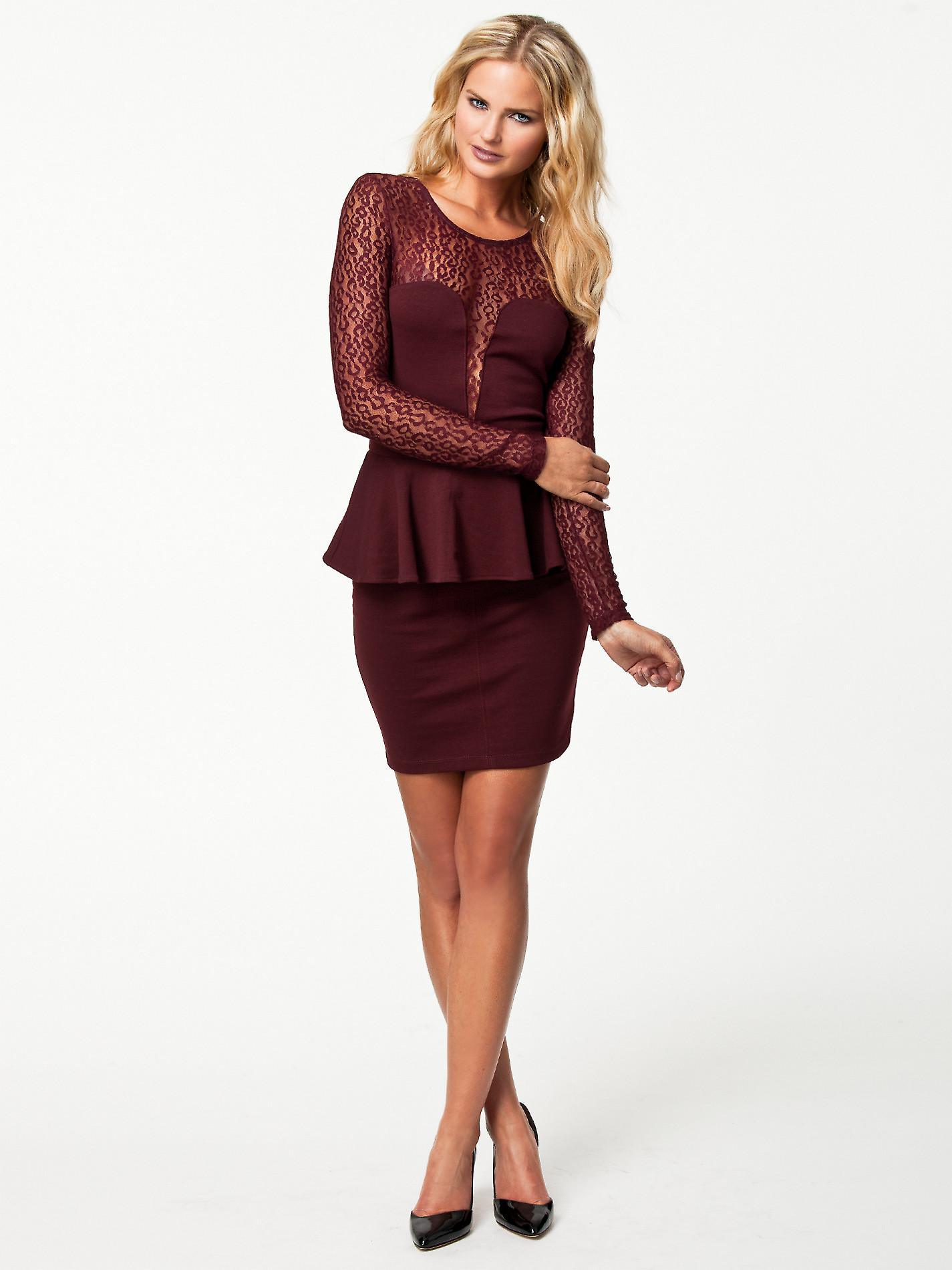 Waooh - Fashion - short dress in lace