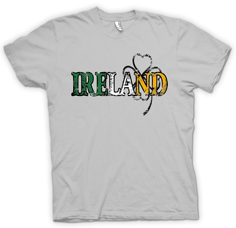 Mens T-shirt - St Patricks Day - Irland
