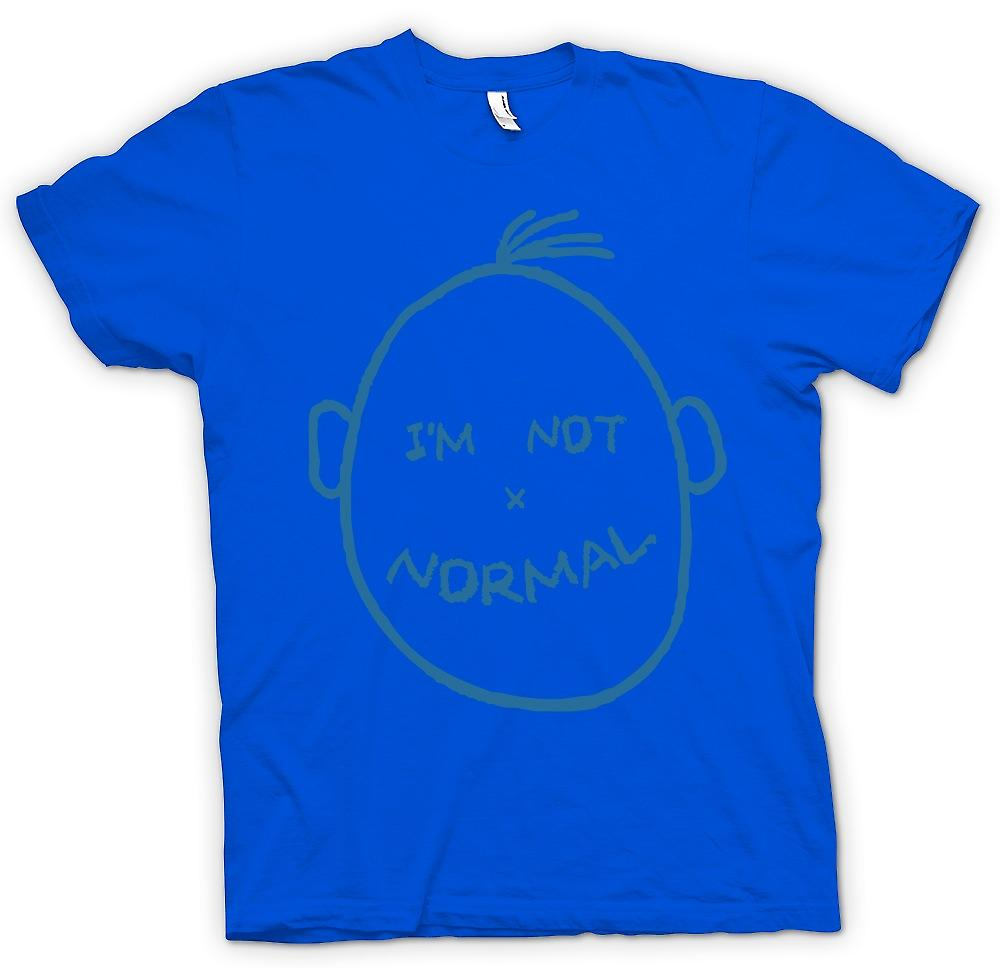 Mens T-shirt - Im Not Normal - Funny