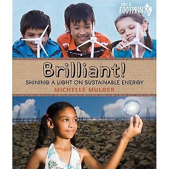 Brilliant!: Shining a Light on Sustainable Energy (Orca Footprints)