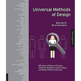 Allmänna metoder för Design: 100 sätt att forskning komplexa problem, utveckla innovativa idéer och designa effektiva lösningar
