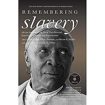 RICORDANDO schiavitù: afro-americani parlare delle loro esperienze personali di schiavitù ed emancipazione