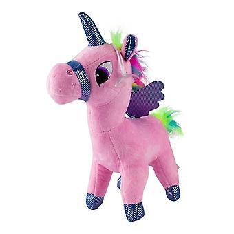 Unicornio, juguetes de peluche/peluche animales luz rosa