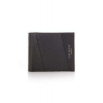Ted Baker Mens Fiters Seamed Leather Bifold Wallet