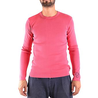 Armani Jeans Pink Cotton Sweater