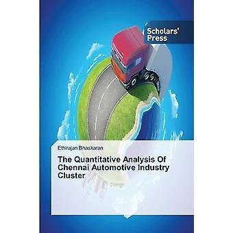 L'analyse Quantitative de Cluster industrie automobile Chennai par Billy 3alae