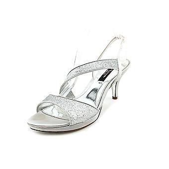 Nina Womens Newark Open Toe Special Occasion Slingback Sandals