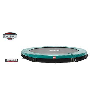 BERG InGround Talent 240 8ft Trampoline Sports Series Green