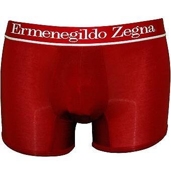 Ermenegildo Zegna New Micromodal Boxer Trunk, Crimson Red