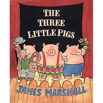 The Three Little Pigs by James Marshall - James Marshall - 9780140557