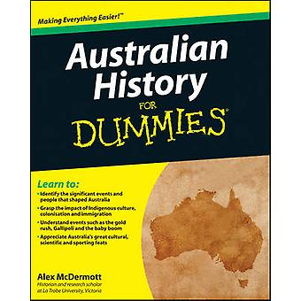 Australian History For Dummies by Alex McDermott - 9781742169996 Book