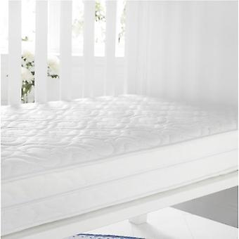 Quilted AntiAllergene Breathable Foam Cot Matress. Größe: 60 cm x 120cm, 13cm Tiefe