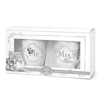 Me To You Wedding Mr & Mrs Mug Set (Boxed)