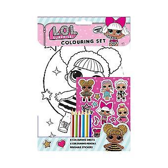 L.O.L Surprise! Colouring Set Activity Pack