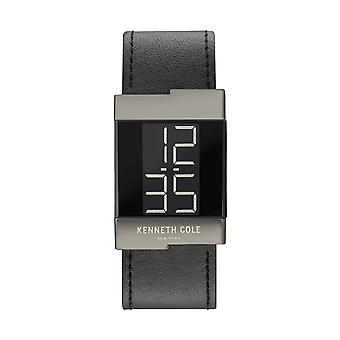 Kenneth Cole New York ladies watch leather wristwatch digital KCC0168002