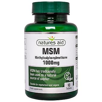Nature ' s Aid MSM 1000mg tabletter 90