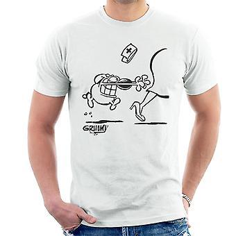 Grimmy Chasing The Nurse Men's T-Shirt