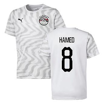 2019-2020 Egypt Away Puma Maillot de football (Hamed 8)