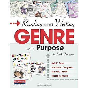 Lettura e scrittura di genere con scopo nelle aule K-8