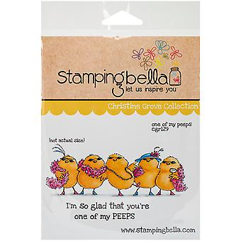 Stamping Bella Cling Rubber Stamp 3.75