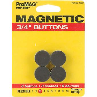 Dyna Mite Magnetic Buttons 3 4