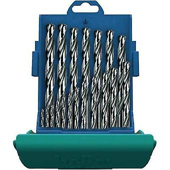 HSS Metal twist drill bit set 25-piece Heller 28707 4 cut Cylinder shank 1 Set