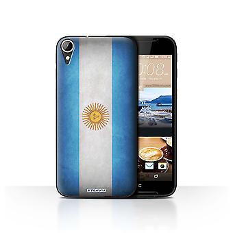 STUFF4 Case/Cover for HTC Desire 830/Argentina/Argentinean/Flags
