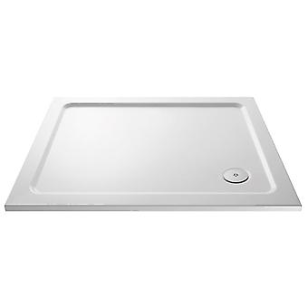 Premier Pearlstone 1100mm x 800mm Low Profile Shower Tray