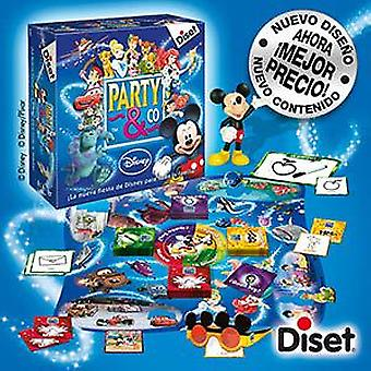 Diset Disney Party & Co 3.0 (Kids , Toys , Table Games , Questions And Ability)
