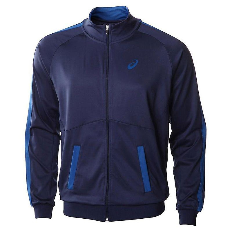Mens Essentials Full Zip Jacket - Navy