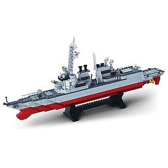 Sluban Army Destroyer 615 Pieces