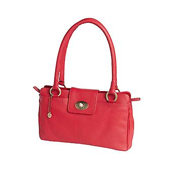 dR Amsterdam Handtas Mint Tango Red