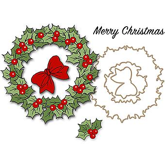 Art Impressions Christmas Cling Rubber Stamp Set 4