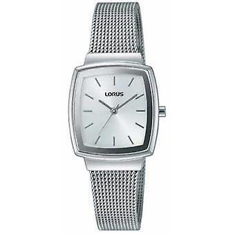 Lorus Womens Stainless Steel Mesh Silver Dial RG253LX9 Watch