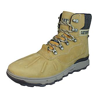 Caterpillar Stiction Hi Ice Mens Leather Waterproof Boots - Honey