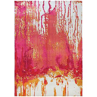 Valdivia Pink & Orange Modern Contemporary Rug