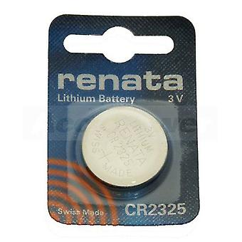 Renata CR2325 Lithium coin cell Battery 190mAh - Pack of 10