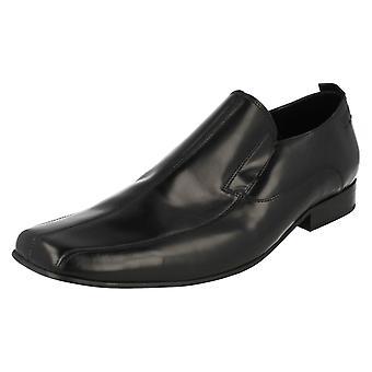 Mens Lambretta Smart Slip On Shoes Crowley