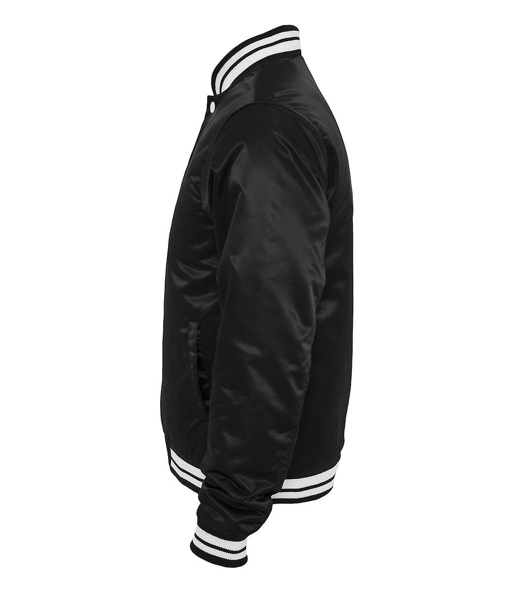 Urban classics mens shiny College jacket