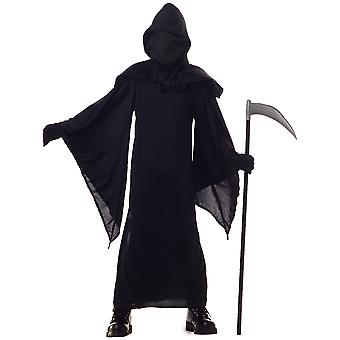 Horror Robe Faceless Grim Reaper Evil Ghost Death Halloween Boys Costume