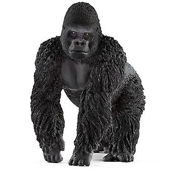 Schleich Gorilla, male (Toys , Dolls And Accesories , Miniature Toys , Animals)