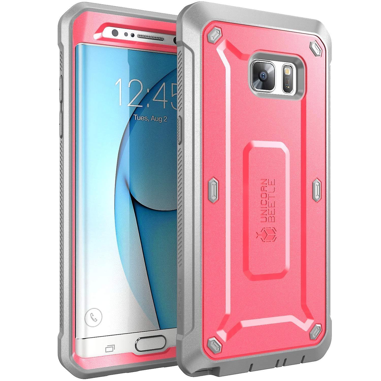 SUPCASE-Samsung Galaxy Note 7 Case-Unicorn Beetle Pro Series Case-Pink/Gray