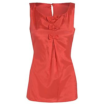 DP Red Bow Top UK SIZE 10
