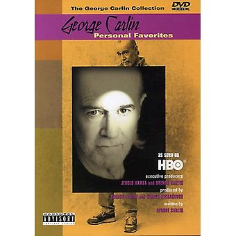 George Carlin - George Carlin: Personliga favoriter [DVD] USA import