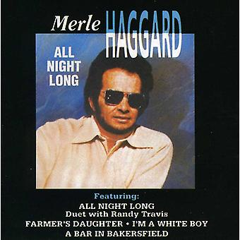 Merle Haggard - All Night Long [CD] USA importeren