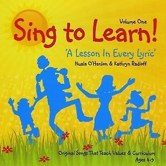 Nuala O'Hanlon & Kathryn Radloff - Sing to Learn [CD] USA import