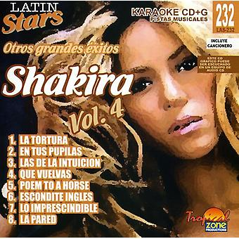 Shakira - Shakira: Vol. 4-Karaoke latinske stjerner [CD] USA import